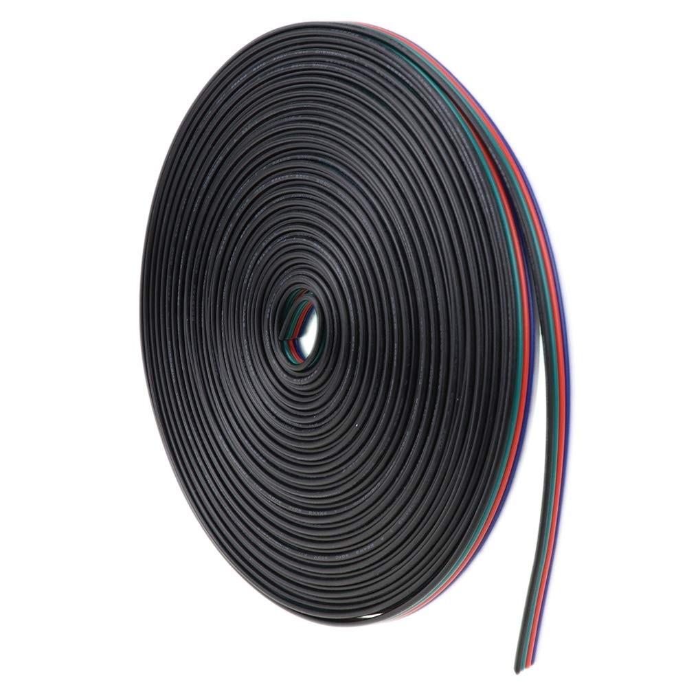 10 Mètres 22 AWG 5pin RGBW Extension Câble 5 Couleur pour RGB Blanc LED Ruban Cordon Fil