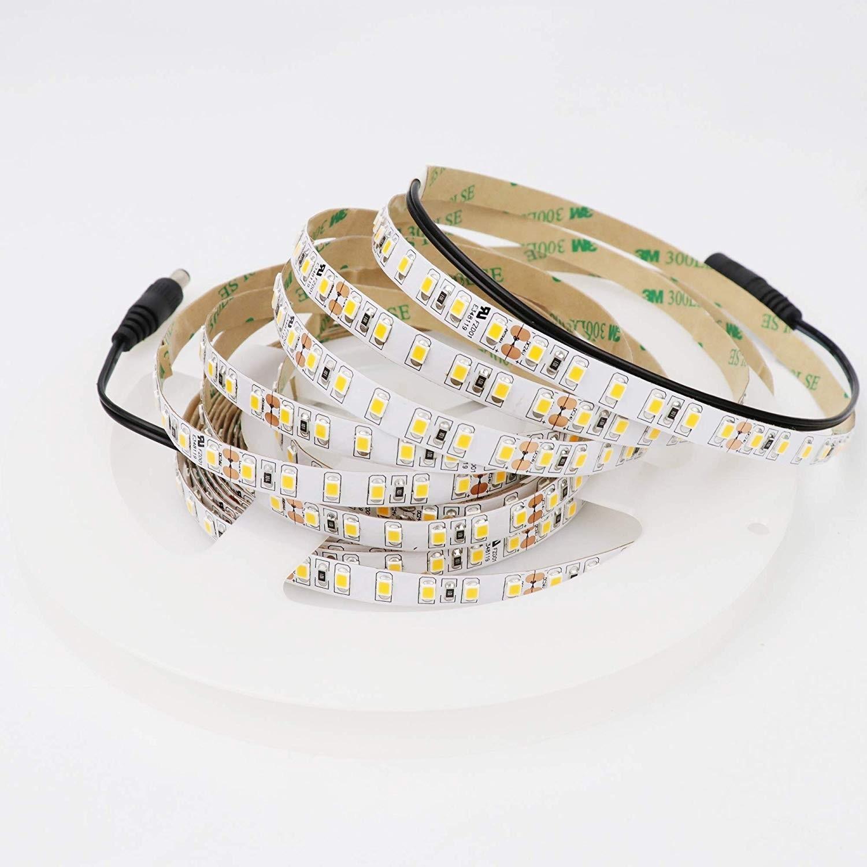 Super Brillant SMD 2835 24V 600LEDs Haute Densité CRI> 90 Dimmable LED Ruban Bande LED Non-Etanche 5M