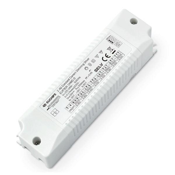 EUP30R-1HMC-0 30W 550/600/650/700/750/800/850/900mA*1ch 2.4G CC LED Driver Wireless Series