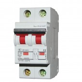 1 Pcs 2P 500V DC Circuit Breaker 1~ 63A Mini Air Isolation Switch for PV Solar Energy System 35mm Din Rail Mounted