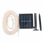 2017 2018 BEST Selling 100 LEDs Solar Power Rope Lights Waterproof Outdoor Portable Light Decoration For Christmas