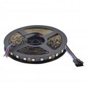 5M 4In 1 RGBW Flexible LED Strip SMD 5050 RGB 60LED/M 12V/24V