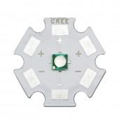 10PCS 3535 3W Cyan 490NM-495NM High Power LED Bead Emitter Epiled chip with 8/12/14/16/20mm Star Heatsink