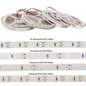 120leds/M LED Strip SMD 8520 Double Chip DC12V 5M 600LEDs Flexible LED Light