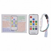 14Key WS2811 WS2812B Wireless RF RGB Led Controller 358 Changes