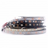 16.4Ft 5M WS2812B 30Pixels/m 150 Pixels Individual Addressable LED Strip Light