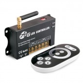 5-24V 16A Group Control Dimmer With Remote 2.4G RF LED Controller