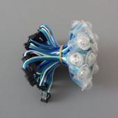 16mm 20 Nodes Waterproof 5V WS2811 RGB 5050 LED Pixel Point Light