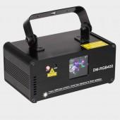 Remote RGB 400mw DMX512 Laser Line Scanner Stage Lighting Effect Projector Light DJ Dance Bar Xmas Party Disco Show Lights