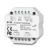 Skydance Led Controller 1CH*1A RF + Push AC Phase-cut Dimmer S1-B