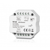 Skydance Led Controller 1CH*3A/6A 12-48VDC CV Dimming Controller (Push Dim) V1-H