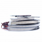 1M DC 5V 5050 RGB Addressable Full Color Flexible LED Pixel Strip 144 Pixels