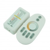 2.4G 4 Zone Touch Led Dimmer Plastic Shell Dimming Color Temperature RGB Led Controller For Led Strip Light Free Shipping