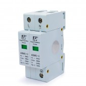 1 Pcs Household Standard Din Rail 35mm 2P 20-40kA 110V 220V 380V Low Voltage Anti-Thunder AC SPD Surge Protection Device