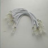 10 Pcs 2 pin 6mm 8mm 10mm 12mm led strip light pin For 110V 220V SMD 5050 5630 3014 2835 Waterproof LED tape RGB 4pin