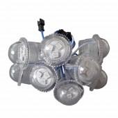 200Pcs 26MM 3LEDS 5050 SMD Single Color LED Module Light Source