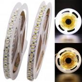 204Leds/M SMD 3014 LED Strip Flexible Light With DC Connector 5M 1020 LEDs Tape 4014 DC12V