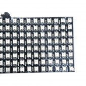 8*32 256 Pixels WS2812B LED Programmed Panel Screen Individually Addressable 5V