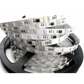 24V 5 Meters 300 LEDs Digital Programmable GS8206 RGB 5050 LED Strip