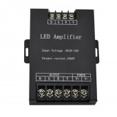 30A RGB Led Amplifier Controller DC 5V 12V 24V 10A*3 Signal Repeater 360W for 3528 5050 RGB Led strip