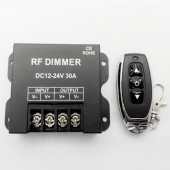 RF Dimmer 3Key DC12-24V 30A Single Channel LED Controller