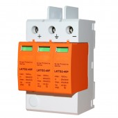 1 Piece 3P DC 1000V 20~40KA Din Rail Surge Protective Device House Solar PV System Arrester Surge Protector