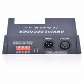 4 Channel RGBW DMX 512 LED Decoder Controller DMX Dimmer