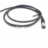 4 Pin Hirose Female HR10A-7P-4S Power Cable for GIGE AVT CCD Industrial Camera , SmallHD Bare Wire To Hirose