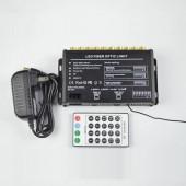 400pcs 0.75mm 3m Fiber Optic Cable + 5W White Fiber Optic Falling Star Light Lighting Kit