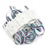 Injection LED Module RGB 5050 Advertising Light 4Leds 12V 20PCS