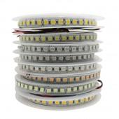 5050 LED Strip 120leds/m Single Row warm white /white /RGB DC12V 5m 600LED IP20 IP65 IP67 Waterproof Flexible LED Light