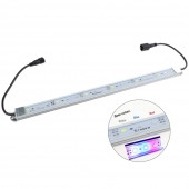 SMD 5730 12V DC Super Bright Aquarium Coral LED Light Strip - étanche en aluminium Cabinet Lighting - Usine LED Grow lampe Lumières Blanc Froid + Bleu + Rouge Bar Couleur