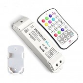 M8 + M4-5A programmable RF à distance RGBW RGBWW Speed ​​LED Controller