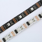 5M Pixel Strip WS2801 32 Pixels/m 5050 Original IC Individually Addressable RGB LED Strip Light Full Color DC5V Like LPD8806