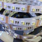 5M 4 Colors in 1 LED SMD 5050 RGBW LED Strip Light RGB + White / Warm White 60leds/m DC12V 12MM PCB