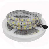 5M 5050/5025 CCT LED Strip 300 leds Dual White Warm White & White 2 in 1 Chip Led Tape Light Color Temperature Ajustable DC12v