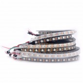 5M WS2812B Individually Addressable LED Strip Light 16.4ft 60LEDS Pixel/M 5V