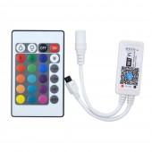 DC 12V Mini WIFI RGB/RGBW Controller with Remote Phone Wireless Control