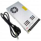350W 14.6A 24V AC/DC Interrupteur Convertisseur d'alimentation + EU Câble d'alimentation pour LED Strip Light
