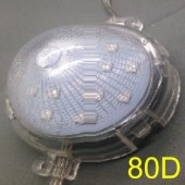 80mm 24V B C D E F Type 20 Nodes RGBWY 5050 LED Point Light