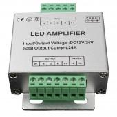 30A DC5-24V LED de Couleur Unique LED Amplificateur de données répéteur de Signal 1 Canal Amplificateur Dimmer Power Strip lumières LED Blanc
