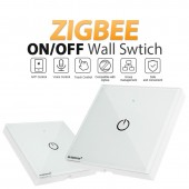 AC110-220V ZigBee 3.0 Smart Light Panel Switch Controller Wireless Wall Remote Work With APP Phone Amazon Echo Plus Gateway