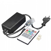 IR Remote High Voltage RGB LED Controller AC110V-220V Power 750W
