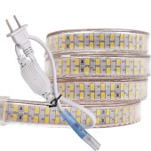240leds/m SMD 5730 LED Strip 220v 110V Flexible Waterproof LED Tape 5m + Power EU Plug / US Plug