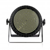 250W LED White Stage Strobe Lighting Effect Bar Club DJ Disco Holiday Party Sound Activated Flash Profession DMX Lights