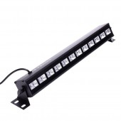 36W UV Stage Black Light Led Bar Remote Control DMX Stage Lighting Effect Disco DJ Xmas Party Indoor Holiday Club Lights