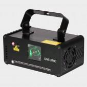 DMX 100mW Green Laser Stage Lighting Scanner Effcet Xmas Bar Dance Party Show Light DJ Disco Laser Projector Lights