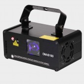 Remote DMX512 150mw Blue Laser Scanner DJ Disco Beam Stage Lighting Effect Blue Laser Projector illumination Show Light