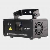 Remote DMX512 RED 200mW Laser Light Professional Stage Lighting Scanner DJ Party Show Xmas Light Effect Projector Disco
