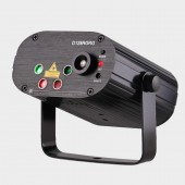 Remote Dual Red Green 128 Patterns Stage Laser Projector Lighting Effect DJ Disco Party Club Bar Xmas Light With Blue LED